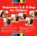Sequences: Colorcards : 6 and 8- Step for Children - Book