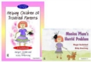 Helping Children of Troubled Parents & Monica Plum's Horrid Problem : Set - Book