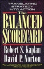 The Balanced Scorecard : Translating Strategy into Action - Book