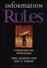 Information Rules : A Strategic Guide to the Network Economy - Book