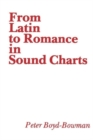From Latin to Romance in Sound Charts - Book