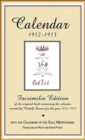 Calender of the Soul : Facsimile Edition of the Original Book Containing the Calender Created by Rudolf Steiner for the Year 1912-1913 - Book