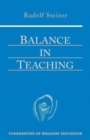Balance in Teaching - Book