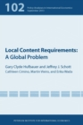 Local Content Requirements : A Global Problem - eBook