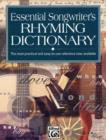 ESSENTIAL SONGWRITERS RHYMING DICTIONARY - Book