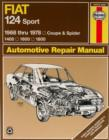 Fiat 124 Sport Coupe & Spider (68 - 78) - Book