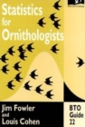 Statistics for Ornithologists - Book
