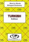 English-Turkish & Turkish-English Word-to-Word Dictionary - Book