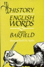 History in English Words - Book