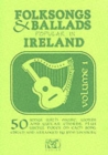 Folksongs and Ballads Popular in Ireland - Book