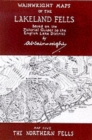 Wainwright Maps of the Lakeland Fells : The Northern Fells Map 5 - Book