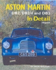 Aston Martin : DB2,DB2/4 and DB3 in Detail 1950-1959 - Book