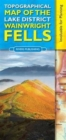 Topographical Map of the Lake District Wainwright Fells - Book