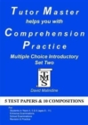 Tutor Master Helps You with Comprehension Practice - Multiple Choice Introductory Set Two - Book
