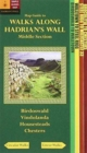 Walks Along Hadrians Wall: Middle Section. Map-Guide - Book