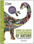 Stickerbook Timeline of Nature - Book