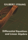 Differential Equations and Linear Algebra - Book
