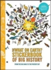 The Big History Timeline Stickerbook - Book