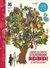 The British History Timeline Stickerbook - Book