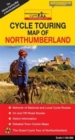 Cycle Touring Map of Northumberland - Official - Book