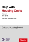 Help With Housing Costs: Volume 2 : Guide to Housing Benefit, 2018-19 - Book