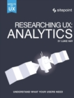 Researching UX: Analytics - Book