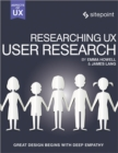 Researching UX: User Research - Book