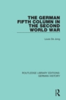 The German Fifth Column in the Second World War - eBook