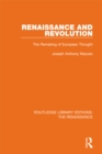 Renaissance and Revolution : The Remaking of European Thought - eBook