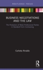Business Negotiations and the Law : The Protection of Weak Professional Parties in Standard Form Contracting - eBook
