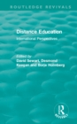 Distance Education : International Perspectives - eBook