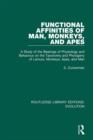 Functional Affinities of Man, Monkeys, and Apes : A Study of the Bearings of Physiology and Behaviour on the Taxonomy and Phylogeny of Lemurs, Monkeys, Apes, and Man - eBook
