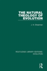 The Natural Theology of Evolution - eBook