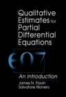 Qualitative Estimates For Partial Differential Equations : An Introduction - eBook