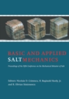 Basic and Applied Salt Mechanics : Proceedings of the 5th Conference on Mechanical Behaviour of Salt, Bucharest, 9-11 August 1999 - eBook