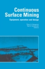 Continuous Surface Mining : Equipment, Operation and Design - eBook