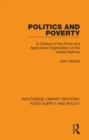 Politics and Poverty : A Critique of the Food and Agriculture Organization of the United Nations - eBook