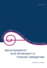 Decomposition and Dimension in Module Categories - eBook