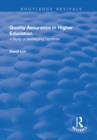 Quality Assurance in Higher Education : A Study of Developing Countries - eBook
