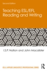 Teaching ESL/EFL Reading and Writing - eBook