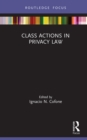 Class Actions in Privacy Law - eBook