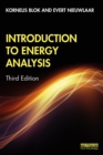 Introduction to Energy Analysis - eBook