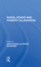 Rural Roads And Poverty Alleviation - eBook