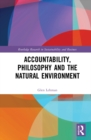 Accountability, Philosophy and the Natural Environment - eBook