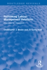 Rethinking Labour-Management Relations : The Case for Arbitration - eBook