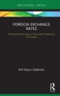 Foreign Exchange Rates : A Research Overview of the Latest Prediction Techniques - eBook