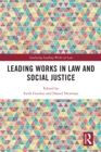 Leading Works in Law and Social Justice - eBook