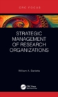 Strategic Management of Research Organizations - eBook