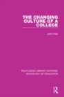 The Changing Culture of a College - eBook