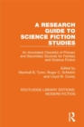 A Research Guide to Science Fiction Studies : An Annotated Checklist of Primary and Secondary Sources for Fantasy and Science Fiction - eBook